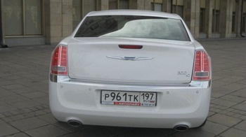 Аренда автомобиля Chrysler 300c  арт.65961 с водителем 0