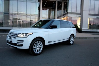 Аренда автомобиля Range Rover Vogue с водителем