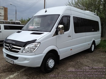 Аренда автомобиля Mercedes-Benz Sprinter  с водителем