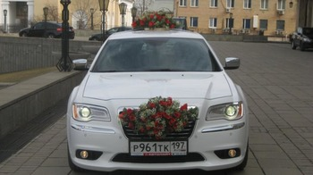 Аренда автомобиля Chrysler 300c  арт.65961 с водителем
