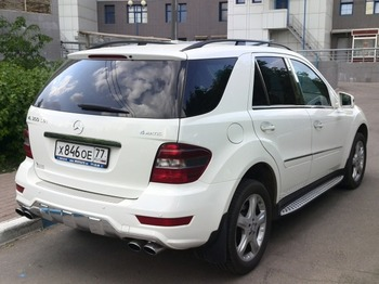 Аренда автомобиля Mercedes-Benz ML 350 AMG  с водителем 0