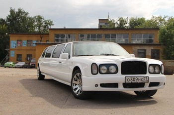Аренда автомобиля Bentley Arnage  с водителем