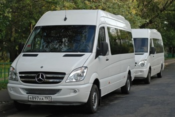 Аренда автомобиля Mercedes-Benz Sprinter 315  с водителем