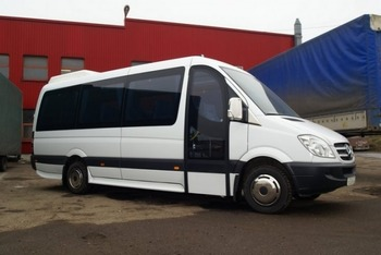 Аренда автомобиля Mercedes-Benz Sprinter (506) с водителем 0