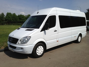Аренда автомобиля Mercedes-Benz Sprinter арт.17761 с водителем