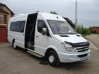 Аренда автомобиля Mercedes-Benz Sprinter 515 арт.17365 с водителем 0