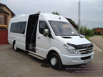 Аренда автомобиля Mercedes-Benz Sprinter  с водителем 2