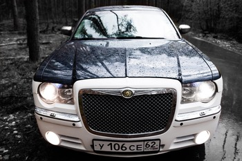 Аренда автомобиля Chrysler 300C  с водителем 5