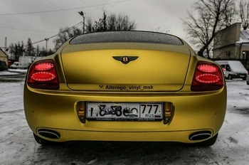 Аренда автомобиля Bentley Continental GT  с водителем 2