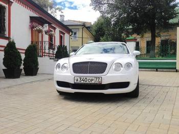 Аренда автомобиля Bentley Continental Flying Spur. с водителем