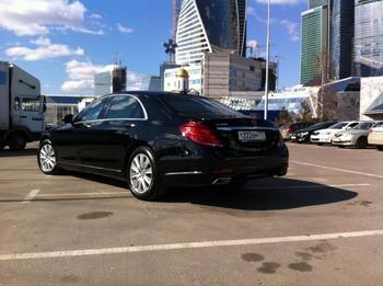 Аренда автомобиля Mercedes S222  с водителем 1