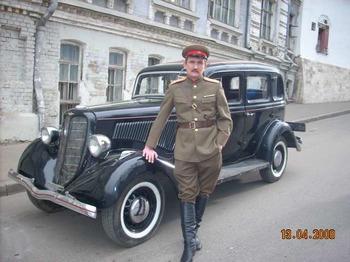 Аренда автомобиля ГАЗ М-1  с водителем