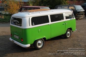 Аренда автомобиля VW T2  с водителем 3