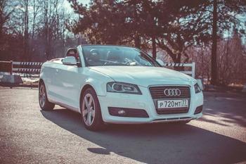 Аренда автомобиля Audi A3 с водителем