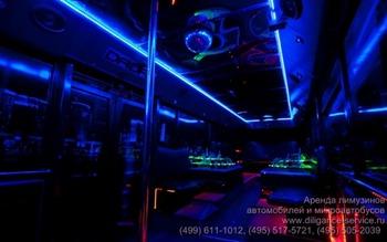 Аренда автомобиля Night Party Bus  с водителем 4
