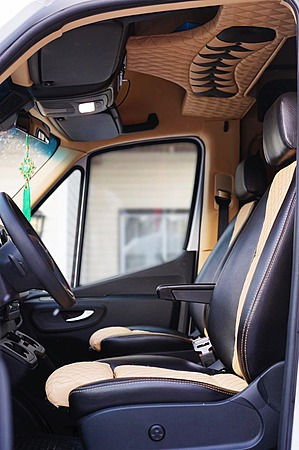 Аренда автомобиля Mercedes Sprinter VIP с водителем 6