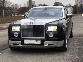 Аренда автомобиля Роллс Ройс Фантом  с водителем 2