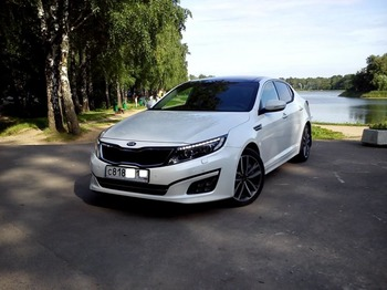 Аренда автомобиля KIA Optima Luxe с водителем
