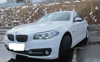 Аренда автомобиля BMW-525  с водителем 3