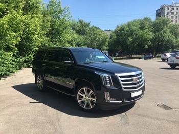 Аренда автомобиля Cadillac Escalade 4 с водителем