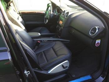 Аренда автомобиля Mercedes ML-350 с водителем 2