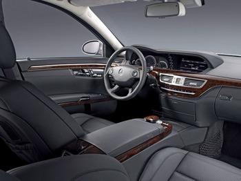 Аренда автомобиля Mercedes  S-class (W221)  с водителем 7