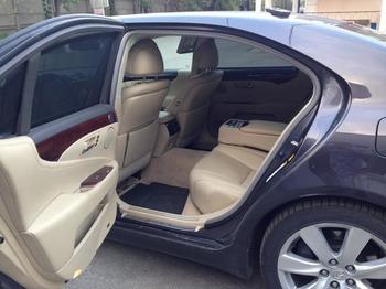 Аренда автомобиля Lexus LS600 (3 места, черный) с водителем 3
