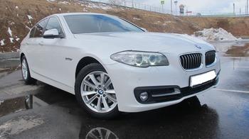 Аренда автомобиля BMW-525  с водителем