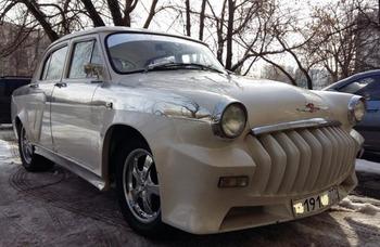 Аренда автомобиля Газ 21 (Волга)  с водителем