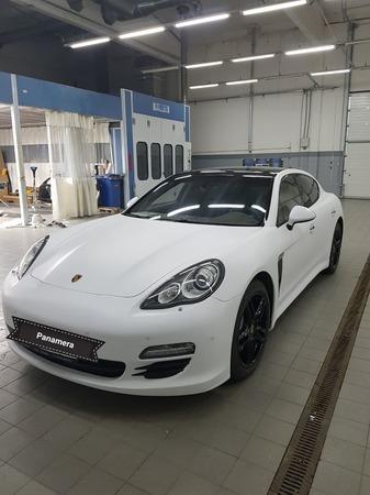Аренда автомобиля Porsche Panamera  с водителем 3