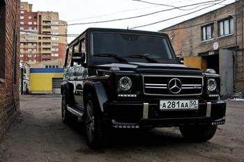 Аренда автомобиля Мерседес Гелендваген  с водителем