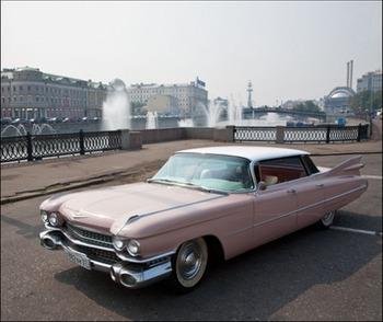 Аренда автомобиля Cadillac  Deville  с водителем