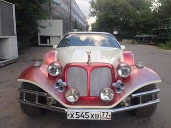 Аренда автомобиля Excalibur Phantom  с водителем 1