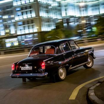 Аренда автомобиля ГАЗ-21 с водителем 0
