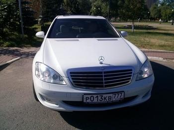 Аренда автомобиля Mercedes S221 Long  с водителем 3