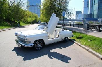 Аренда автомобиля ГАЗ-21 кабриолет  с водителем 6