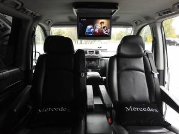 Аренда автомобиля Mercedes-Benz Vito серебро с водителем 0