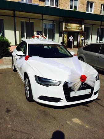 Аренда автомобиля Audi А6  с водителем