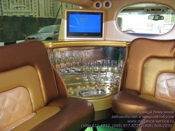 Аренда автомобиля Infiniti QX56  с водителем 6