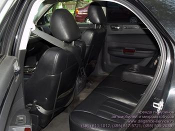 Аренда автомобиля Chrysler 300C  с водителем 1