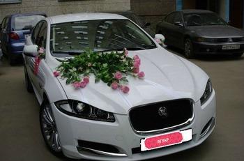 Аренда автомобиля Jaguar XF с водителем
