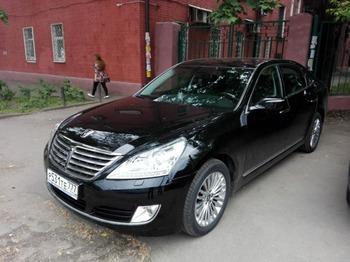 Аренда автомобиля Hyundai Equus с водителем 1