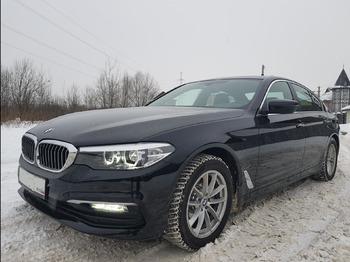 Аренда автомобиля BMW 520 с водителем