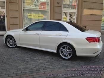 Аренда автомобиля Mercedes-Benz E212  с водителем 1