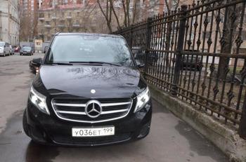 Аренда автомобиля Mercedes (V-класс)  с водителем 0