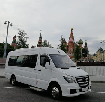 Аренда автомобиля Mercedes Sprinter  VIP с водителем