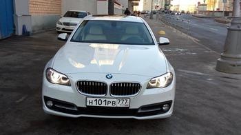 Аренда автомобиля BMW-5  с водителем 9
