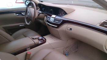 Аренда автомобиля Mercedes S221 long  с водителем 1