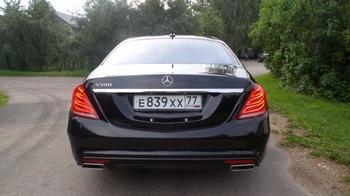 Аренда автомобиля Mercedes S222  с водителем 0