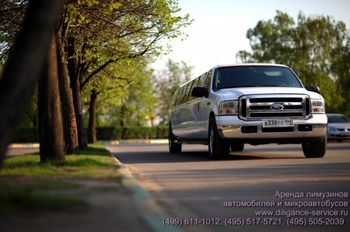 Аренда автомобиля Ford Excursion  с водителем 0